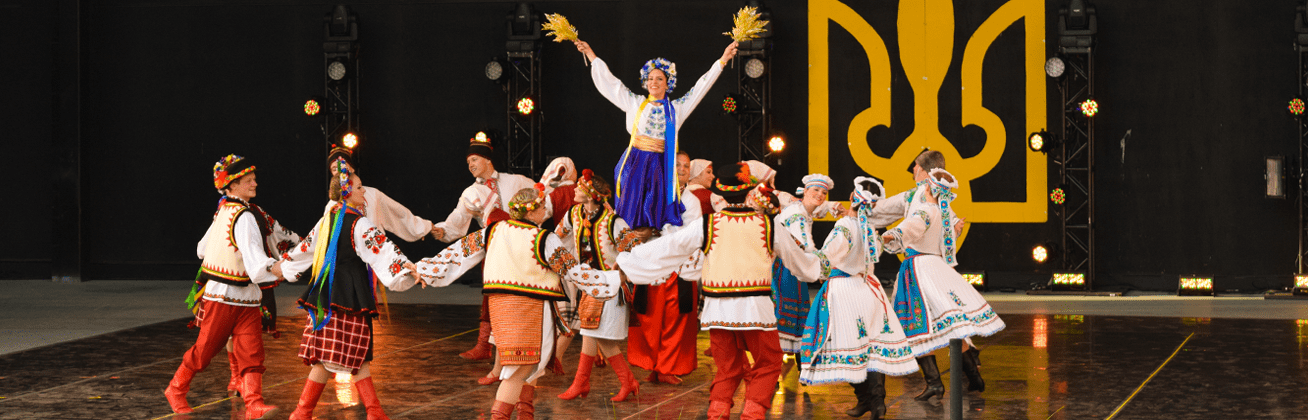 Chaban slideshow image of dancers on stage as for homepage